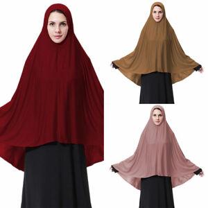 Muslim-Nikab-Women-Burka-Overhead-Jilbab-Long-Hijab-Abaya-Khimar-Headscarf-Dress