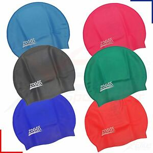Image is loading Zoggs-Silicone-Swimming-Cap-Junior-Boys-Girls-Childrens- 56f67d792