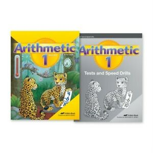 Abeka-Homeschool-Child-Grade-1-Arithmetic-Kit-New-Edition