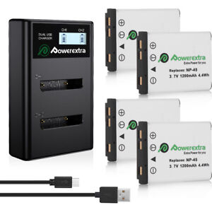 NP-45A-NP-45-Battery-Charger-For-Fujifilm-FinePix-XP20-XP30-XP50-XP60-EN-EL10