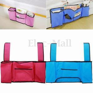Bedside Caddy Pocket Bed Organizer Hanging Storage Bag