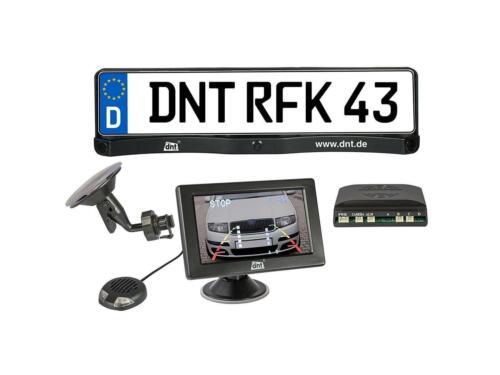 Sistema de cámara de retrovisor de DNT RFK Integro 3.5 con receptor radio integrado C