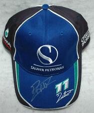 Jacques Villeneuve Signed 2005 F1 Sauber Petronas JV Cap