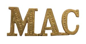 MAC Surname Prefix Gilded For Orange Order Collarette