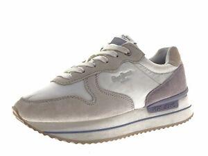 Pepe Jeans Damen Schuhe Sneaker Laufschuhe Freizeitschuhe Gr 37 Leder