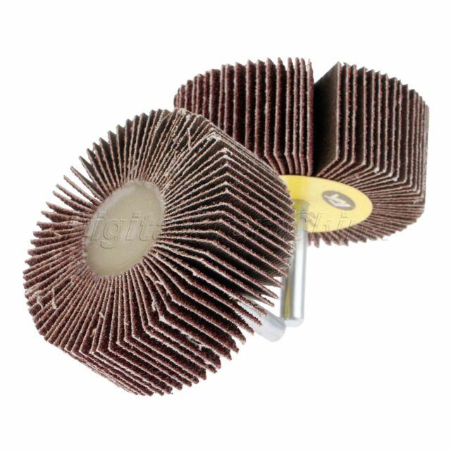 80 Grit 60mm Flap Sanding Wheel Disc Sandpaper Grinder Polishing Rotary Tool