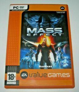 Mass Effect - Value Games PC (edición española buen estado)