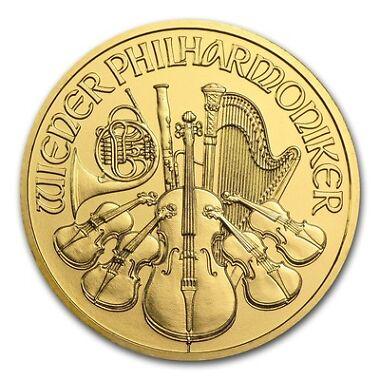 2016 1 oz Gold Austria Philharmonic Coin BU