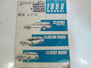 1990 chevrolet caprice custom cruiser estate wagon shop service rh ebay com 1995 chevrolet caprice service manual