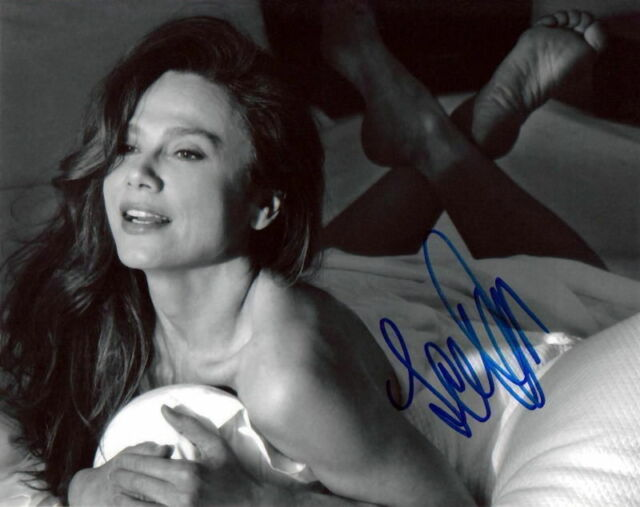 LENA OLIN.. Barefoot Beauty in Bed - SIGNED