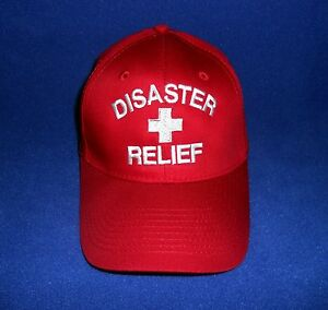 Disaster Relief  Ball Cap  Red Cross  Disaster Preparedness