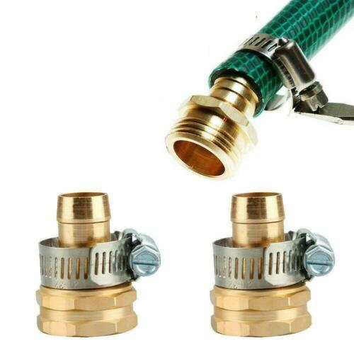 Garden Hose Repair Mender Kit Hose Connector 3//4 Male Female Connector Supplie Z