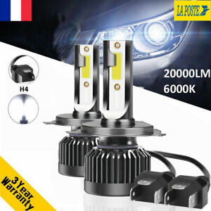 110W-20000LM-H4-Hi-Lo-CREE-LED-Ampoule-Voiture-Feux-Lampe-Kit-Phare-Blanc-6000K