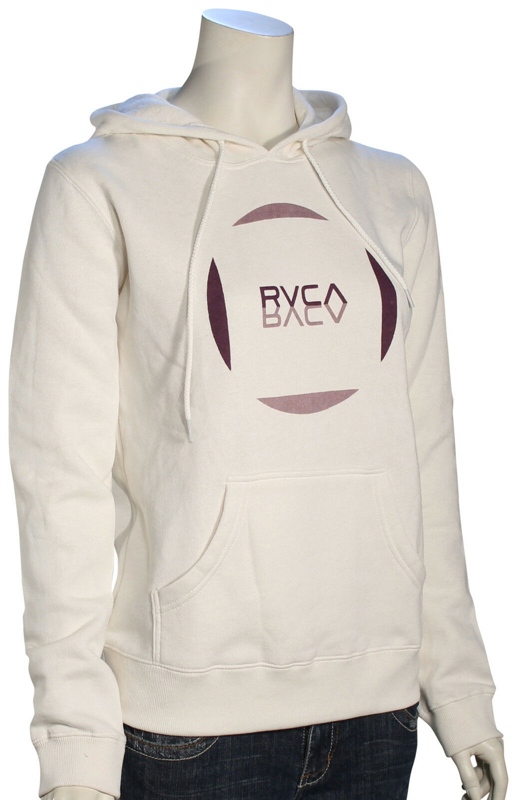 RVCA Reflect Women's Hoody - Vintage White - New