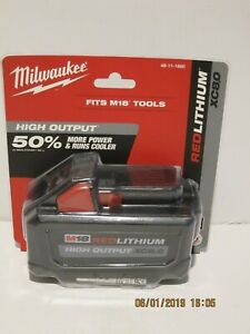 Milwaukee-48-11-1880-M18-REDLITHIUM-HIGH-OUTPUT-XC8-0-Battery-BRAND-NEW-2019-DAT
