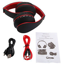 2x Foldable Wireless Bluetooth Headsets Stereo Headphone Earphone For iPhone HTC