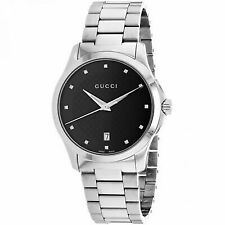 87e725293be Gucci G-timeless Black Dial Diamond Unisex Watch Item No. YA126456 ...
