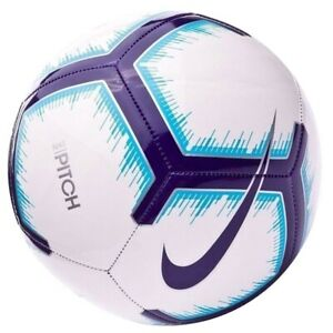 Details About Soccer Ball Nike Premier League Pitch Size 4 White Football Fussball Ballon