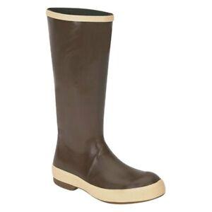 Honeywell 222158E Servus 8 Size Copper Neoprene Plain-Toe Waterproof Boots