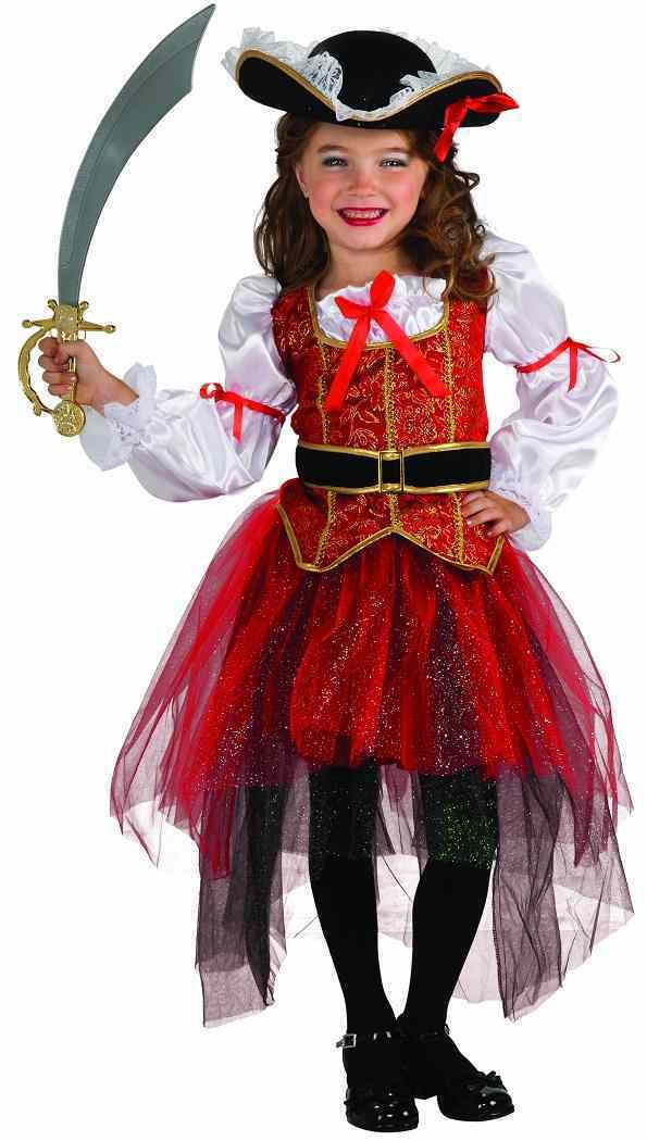 Princess of the Seas Pirate Wench Caribbean Fancy Dress Halloween Child Costume
