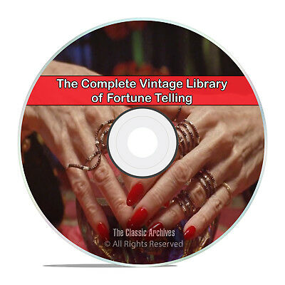 37 Books Library of Fortune Telling Teller Tarot Card Reading Future PDF CD H75