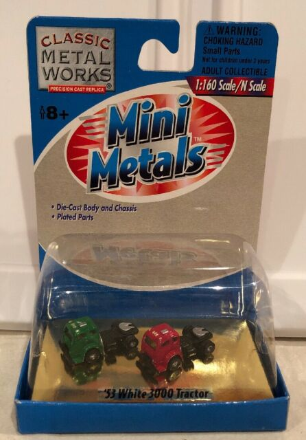 Classic Metal Works N Scale /'53 White 3000 Tractor 2 per pack #50205