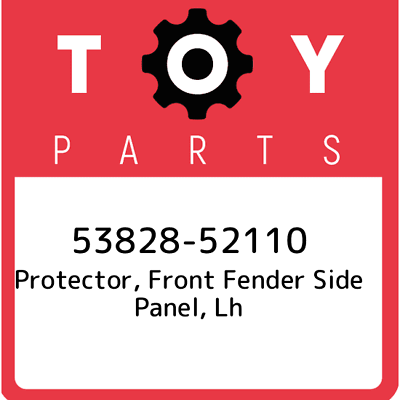 TOYOTA 53828-42061 Fender Protector