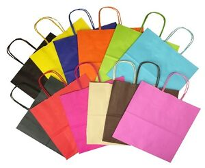 Landscape-Large-Paper-Party-Gift-Bags-Boutique-Shop-Bag-Select-Your-Colour