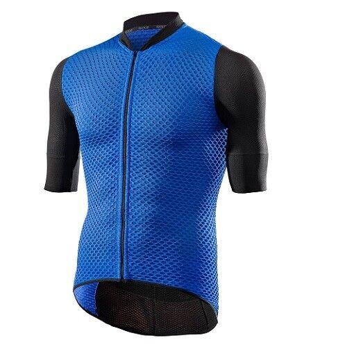 Maglia Maglietta Jersey T-shirt Bici Ciclismo SIXS BLU 100% Italy HIVE JERSEY