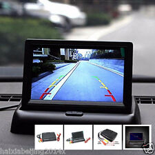 "Car Foldable 4.3"" Front Interior In-Dash Reversing Parking Digital LCD Monitor"
