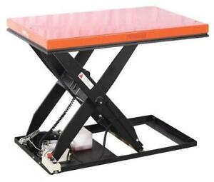 Hydraulic Lift Tables - Stationary Scissor Lifts, 2200 to 5500 lbs capacity Canada Preview