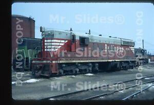 Original-Slide-CB-amp-Q-Burlington-Route-BN-SD7-6050-In-1972