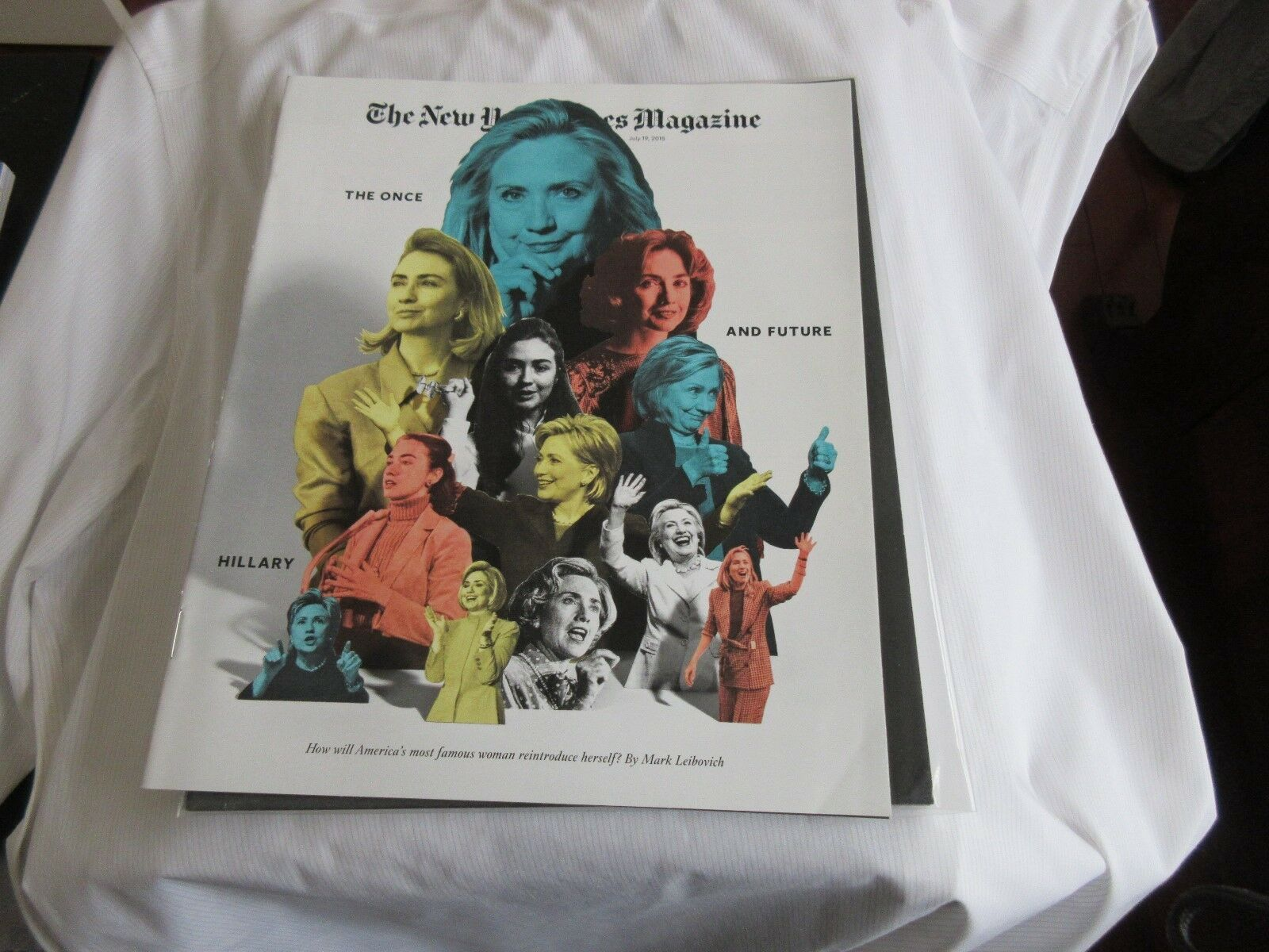 The Once and Future Hillary ,The New York Times Magazin