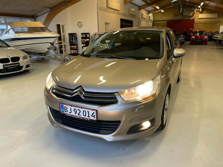 Citroën C4 1,6 HDi 90 Seduction 5d - 59.900 kr.