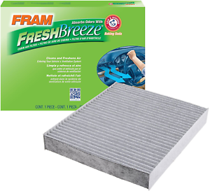 NEW FRAM CF10743 Fresh Breeze Cabin Air Filter with Arm /& Hammer