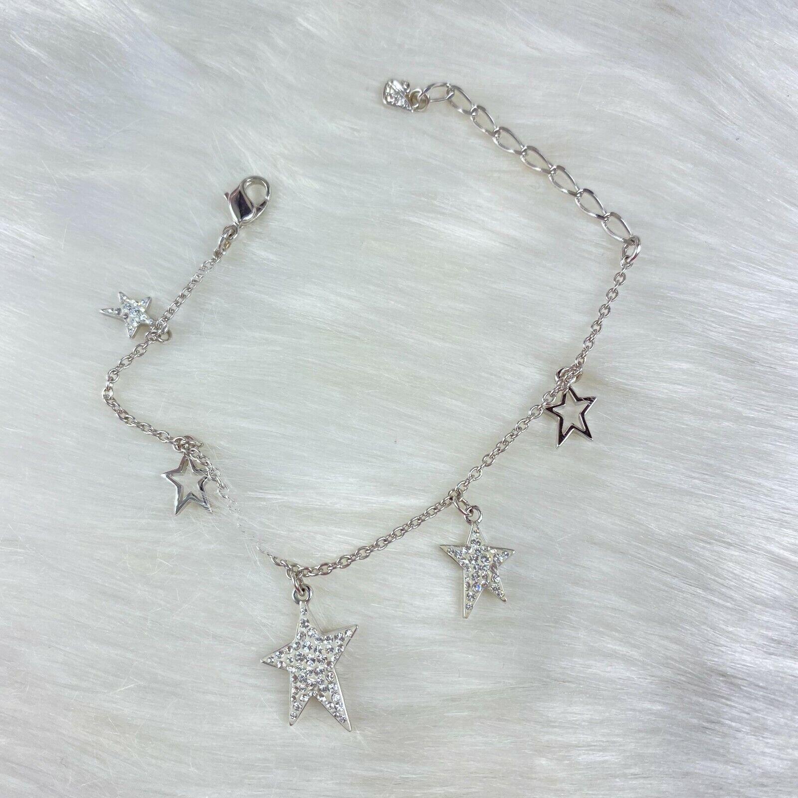 Swarovski Pave Crystal Flicker Star Charm Dangle … - image 1