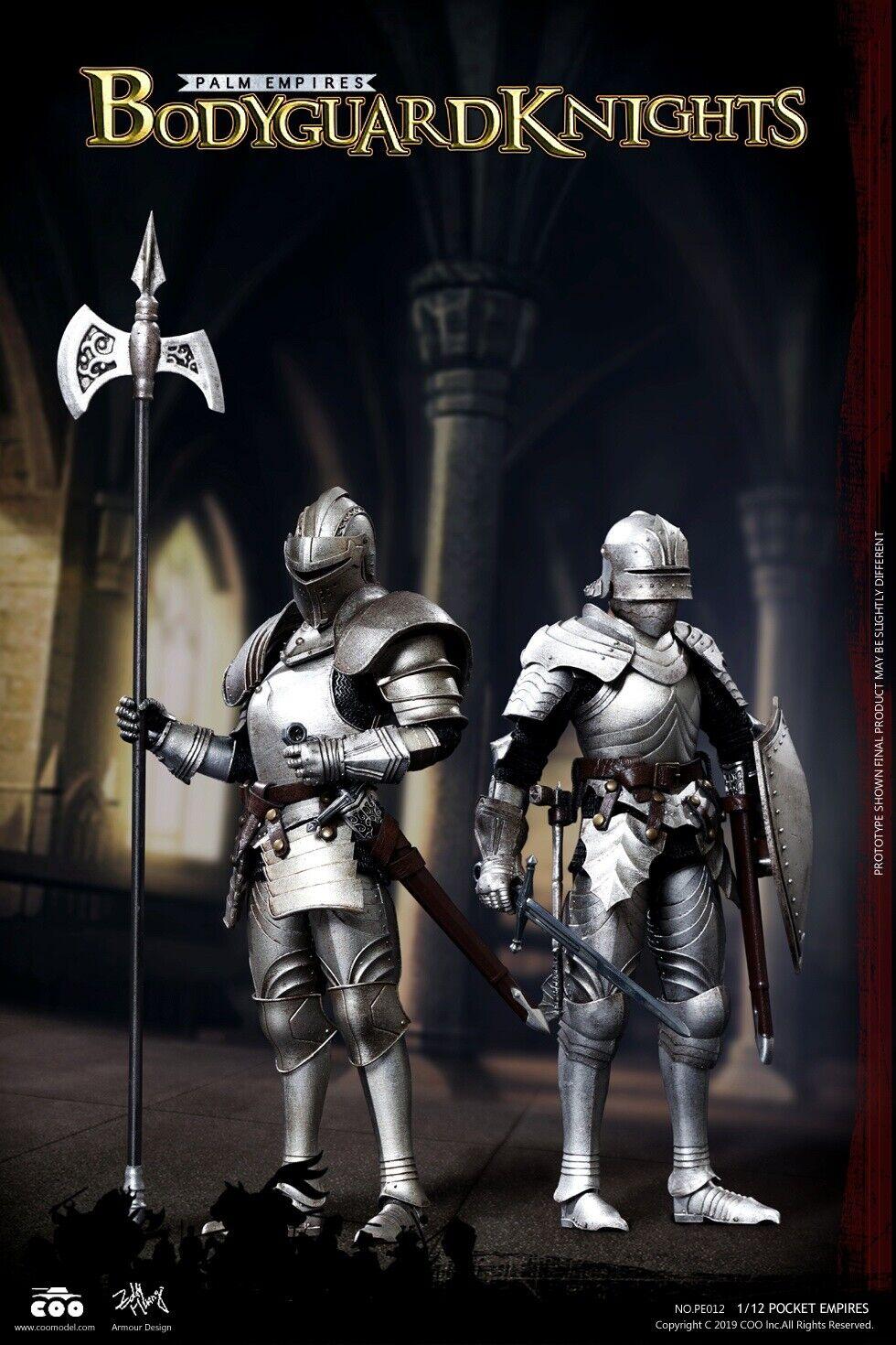 Coomodel PE012 Taschen Empires Leibwächter Ritter (Double-Figure Set) 1 12