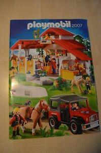 7355 playmobil folder prospekt brochure  katalog catalogue 2007 BIG