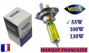 Ampoule-Jaune-ancien-Marque-Francaise-VEGA-H7-55W-Auto-Moto-12V