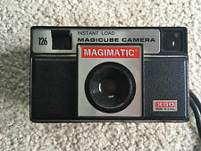 VINTAGE MAGIMATIC FILM flash pocket  CAMERA black clean box 1960S magicube style