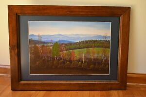 Framed-Matted-Limited-Edition-Art-Print-Roten-039-s-Mountain-Signed-No-1