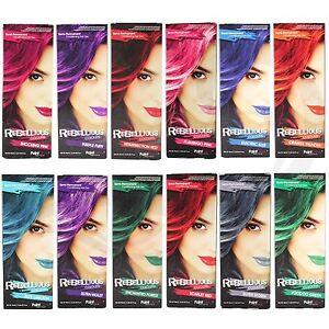 PaintGlow Semi Permanent Hair Dye Bright Colours 1 2 & 4 Pack & FREE ...