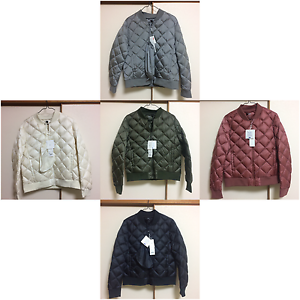 NWT AUTHENTIC UNIQLO ULTRA LIGHT DOWN QUILT RIB BLOUSON FROM JAPAN ... : uniqlo quilted jacket - Adamdwight.com