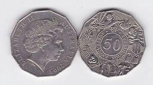 2003-50-Cent-Coin-Australia-Australia-039-s-Volunteers