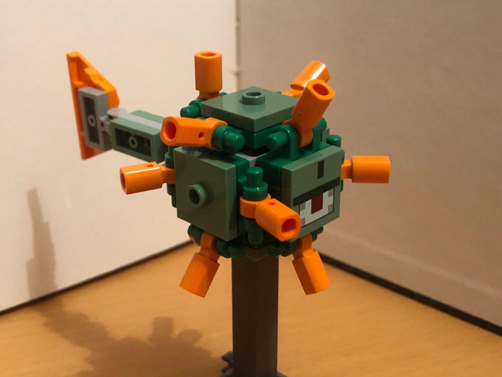 Lego Minecraft Elder Guardian Tuteur Tuteur Tuteur calmar from set 21136 (très rare) ff7804