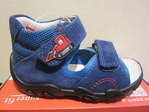 Superfit-Sandale-LL-bleu-KV-semelle-en-cuir-neuve