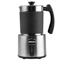 MEDION MD 18286 Milchaufschäumer Cappuccino Latte Macchiato 230ml 550W edelstahl