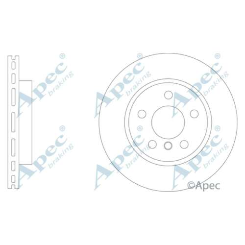 Fits BMW i3 I01 Hybride véritable APEC AVANT VENTILÉ HAUTE Carbone Disques de frein Set