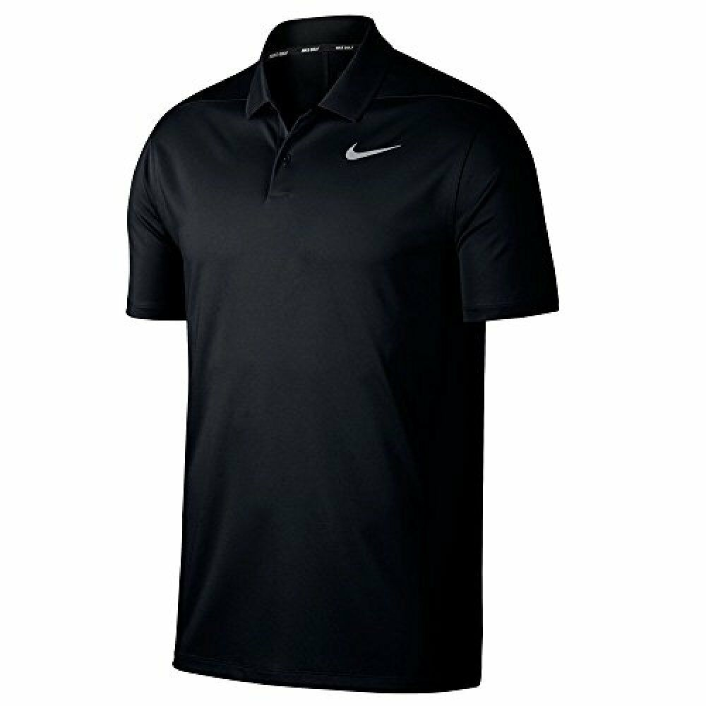 NIKE Victory Solid Polo Black/Cool Gray,Blue Nebula/Black,College Navy/Black,Dark Gray/Black,Game Royal/Black,Light Carbon/Black,Rush Coral/Black,Thunder Blue/Black,University Blue/Black,University Red/Black,White - Weiss/White/Turquoise,White/Cool Gray,W