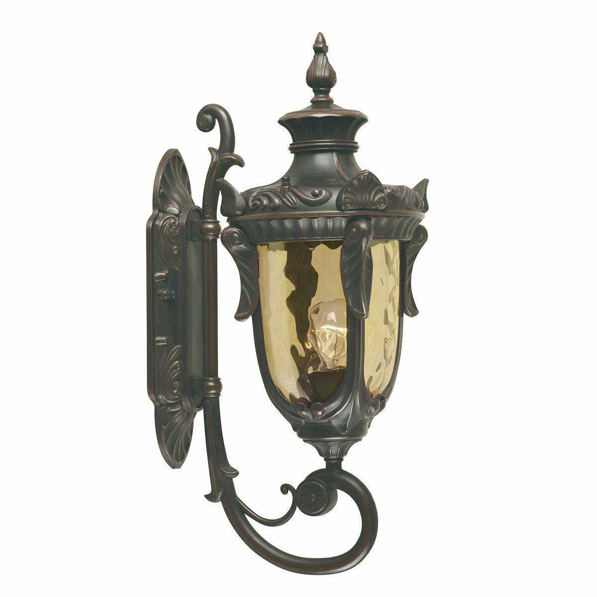 Elstead Lighting - Philadelphia 1 Light Medium Wall Lantern - Old Bronze
